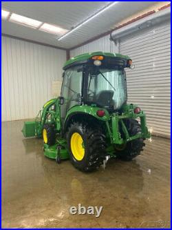 2017 John Deere 3046r Hst Cab With A/c And Heat, 4wd