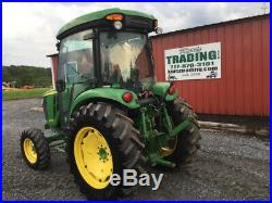 2017 John Deere 4066R 4x4 Hydro Compact Tractor with Cab Only 1800Hrs