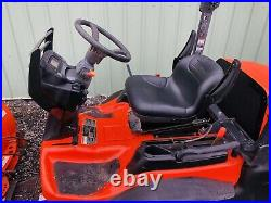 2017 KUBOTA F2690 4X4 FRONT CUT MOWER, With SNOW BLADE DIESEL! CHEAP SHIPPING