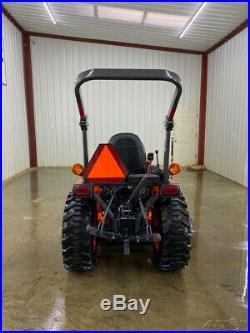 2017 Kubota B2601 Hsd Tractor Loader, Orops, La434 Loader