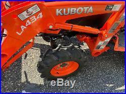 2017 Kubota B2601 Tractor, LA434 Loader, Land Pride Chipper 13 one-owner hours