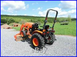 2017 Kubota B2650 Compact Tractor Loader 4X4 Diesel 3 Point Hitch PTO WARRANTY
