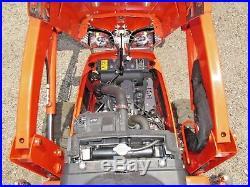 2017 Kubota BX25D 4WD Tractor with60 Deck, LA240 Loader, BT602 Backhoe, 64hrs