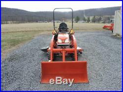 2017 Kubota BX25D Sub Compact Tractor Loader Backhoe Diesel 4X4 Warranty VIDEO