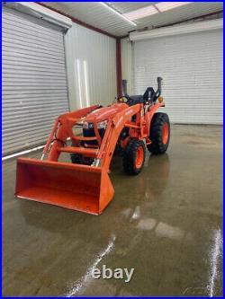2017 Kubota L2501 4x4 Hst Orops Tractor