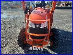 2017 Kubota L3901D Compact Loader Tractor Only 35 Hours! Very Nice! Warranty