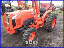 2017 Kubota L4701 Tractor, 4WD, LA765 Loader SSL QA, Gear Drive, R1, 290 Hours