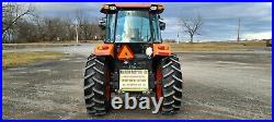 2017 Kubota M7060D Cab Loader Tractor. Only 147 Hours! Hydraulic Shuttle