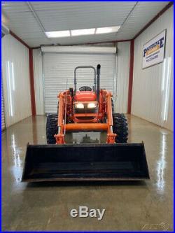 2017 Kubota M7060 Hd 4x4 Tractor Loader With La1154 Loader