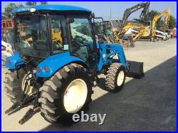 2017 LS XR4145 4X4 Compact Tractor with Cab & Loader Super Clean Only 200Hrs