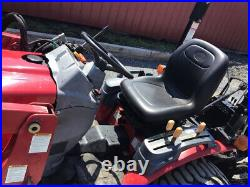 2017 Mahindra Emax 25 4x4 Hydro Compact Tractor Loader Backhoe Only 900Hrs