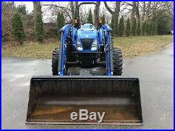 2017 New Holland Workmaster 70 4x4 Tractor Loader Diesel 3 Point PTO NH 70 HP