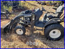 2017 Yanmar 424 4x4 Hydo Compact Tractor with Loader CHEAP