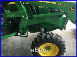 2018 John Deere 4044m (44 HP) 4WD Compact Utility Loader Tractor 68 hours