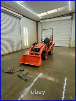 2018 Kubota Bx23s Hst Tractor Orops, 4wd, La340 Loader With Quick Attach Bucket