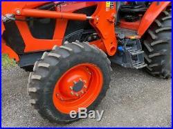 2018 Kubota M5-091 4x4 farm tractor with LA1854 loader READY TO WORK