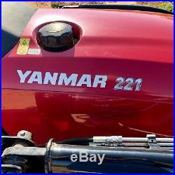2018 Yanmar 221 Utility Tractor
