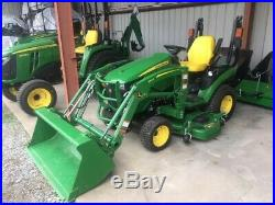 2019 John Deere 1025R with 60 Mower Deck & Loader Only 24 hours