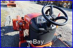 2019 KUBOTA BX1880, 48 Loader Bucket, 54 Mower Deck, 3-point Hitch, PTO