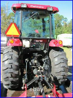 2019 Mahindra 2655 HST Cab Tractor Box Blade Bush Hog Grappler Bucket WARRANTY