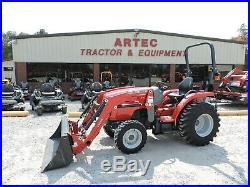 2019 Massey Ferguson 1726e Tractor & Loader 4x4 Warranty Only 61 Hours