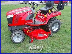 2019 Massey Ferguson GC 1705 4X4 Tractor in excellent condition Hydrostatic NEW