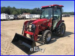 2019 TYM Tractors T394 With Bucket Loader And Factory Cab With A/C! New