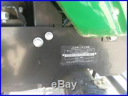 24 HP 4x4 John Deere 1025R Loader Mower Tractor 4WD HST Hydrostatic 1026e 1026r