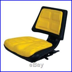 2702200 Universal Seat with Slide Tracks And Mounting Brackets Trapezoid Back