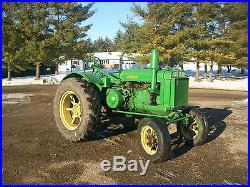29 John Deere GP Antique Tractor NO RESERVE PTO A B G H D R farmall allis oliver