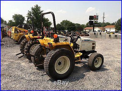 (2) Nice Cub Cadet 7265 4x4 Compact Tractor