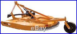 34 HP Massey Ferguson 4wd 1734 Tractor Loader Bushhog Blade Trailer