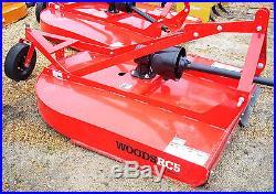 34 HP Massey Ferguson 4wd 1734 Tractor Loader Bush Hog Rotary Cutter