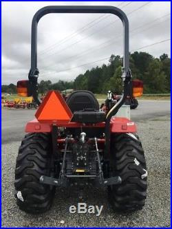 34 HP Massey Ferguson 4wd 1734e 1734el Tractor Loader Bush Hog Rotary Cutter