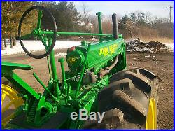 38 John Deere Unstyled B Antique Show Tractor NO RESERVE Spokes farmall oliver