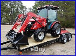 39 Horse Power Cabin Tractor Loader Cutter Blade and Trailer