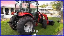 45 HP 4x4 CAbin Traqctor & Loader 6 Year WARRANTY