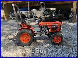 4x4 Kubota B7100 HST 16 hp tractor