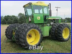 531 ci JD 7520 tractor, 1973 John Deere. Four wheel drive, Classic Muscle Fwd