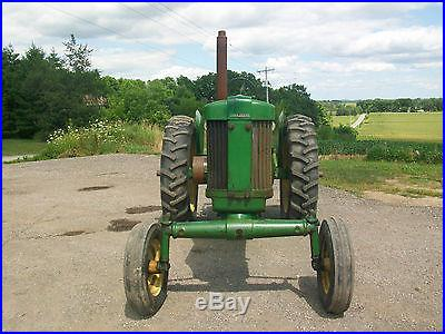 54 John Deere 60 Antique Tractor NO RESERVE Factory Wide Front Three Point Hitch