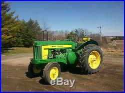 58 John Deere 620 Standard Antique Tractor NO RESERVE Front Weights a b farmall