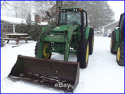 6420 JOHN DEERE CAB 4X4 WITH 640 LOADER/ UNRESERVED