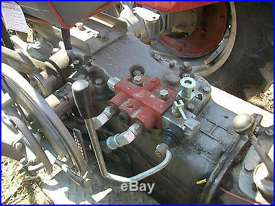 64 Massey Ferguson 65 Antique Tractor NO RESERVE Three Point Power Steering Ford