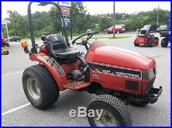 91 Case IH 1120 4x4 compact tractor 19 hp Mitsubishi pwr steering used 1470 hrs