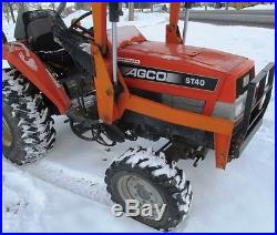 AGCO ST40 COMPACT TRACTOR With LOADER. POWER SHUTTLE. ISEKI DIESEL. RUNS GREAT