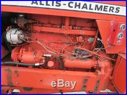 Allis Chalmers 220 Row Crop Tractor, Rear Fenders, 3044 Hours Good Original