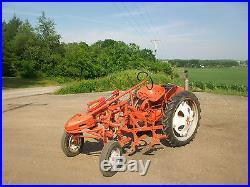 Allis Chalmers G Antique Tractor NO RESERVE Hydraulics Cultivators Farmall Case