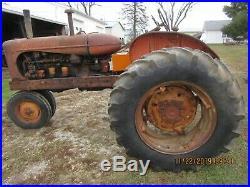 Allis Chalmers WD-45 Diesel 1955 Tractor Serial #202603D