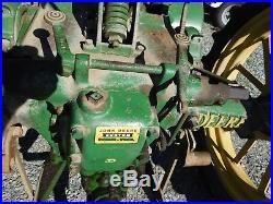 Antique John Deere Model B Farm Tractor