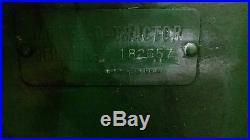 Antique John Deere tractor 1948 John Deere D Tractor